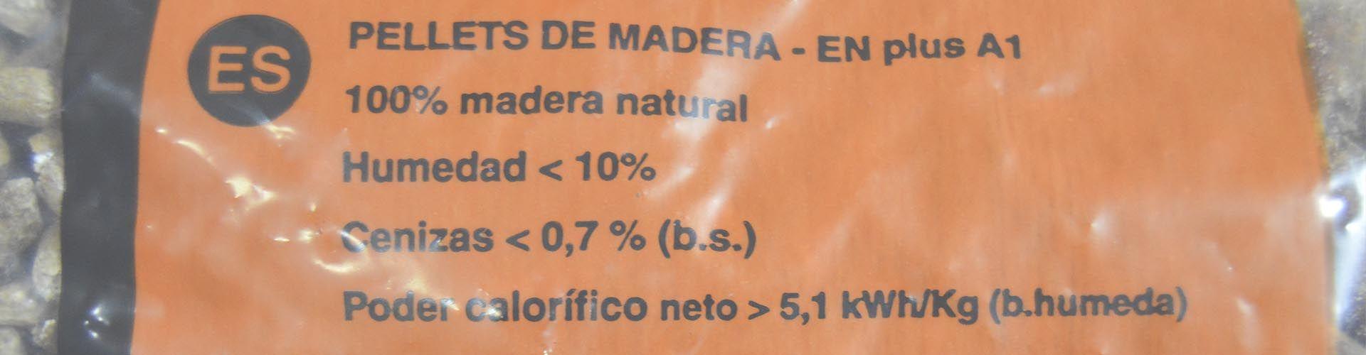 Pellets de buena calidad en Madrid